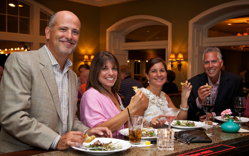 food and drinks at RiverCrest Golf Club